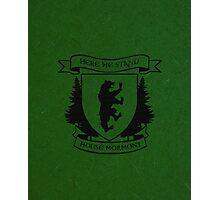 House Mormont Photographic Print