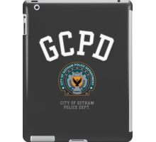 City of Gotham Police Department (Stitched Effect) iPad Case/Skin