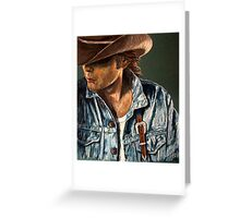 Just Another Cowboy Greeting Card