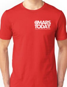 Mars Today - Total Recall (Pocket, White) Unisex T-Shirt