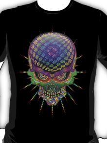 Crazy Skull Psychedelic Explosion T-Shirt