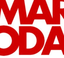 Mars Today - Total Recall (Pocket, Red) Sticker