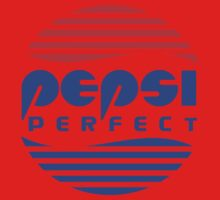 Pepsi Perfect - Back to the Future (Flat Colors) Kids Clothes
