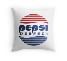 Pepsi Perfect - Back to the Future (Gradient Colors) Throw Pillow