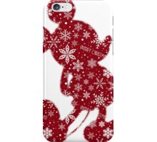Christmas Mickey iPhone Case/Skin