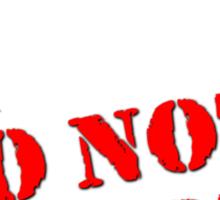 Unarmed Civilian - Do Not Shoot Sticker