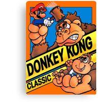 donkey kong classic game Canvas Print