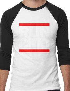 RUN CMD C:\>_ Men's Baseball ¾ T-Shirt