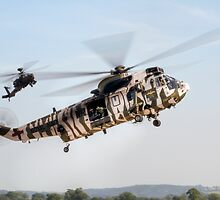 Sea King and Apache Helicopters by © Steve H Clark Photography