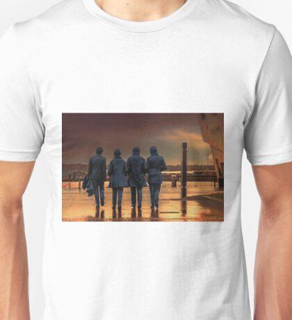 Beatles Sculpture  Unisex T-Shirt