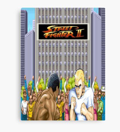 Street Fighter 2 Canvas Print
