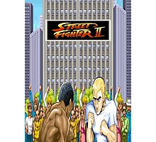 Street Fighter 2 Photographic Print