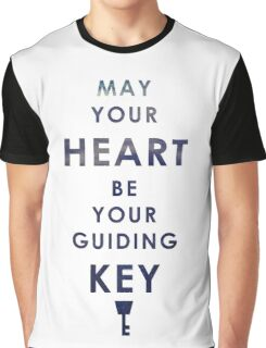 May your Heart be your guiding Key Graphic T-Shirt