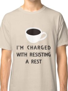 Coffee Charge Classic T-Shirt
