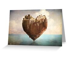 My Heart is my Castle Greeting Card