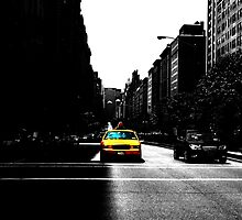 New York The Yellow Cap by Awerick