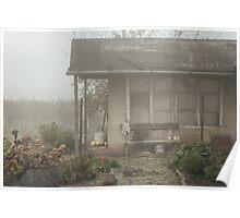 Garden house Poster