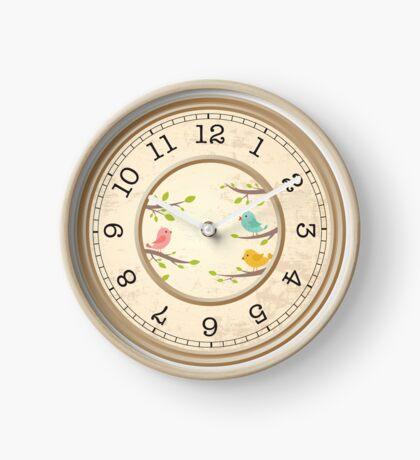 Little BIRDIES clock face....! Clock