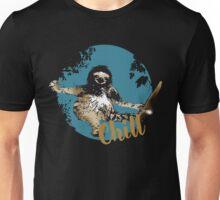 faultier live slow chill out faulenzen abhängen nerd geek grinsen Unisex T-Shirt