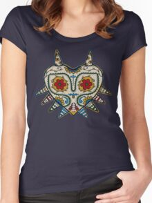 Majoras mask Women's Fitted Scoop T-Shirt