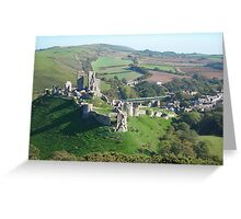 Purbeck view Greeting Card