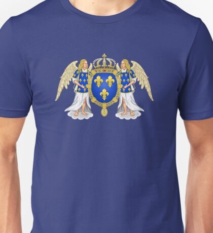 Coat of Arms of the Kingdom of France (1515-78) Unisex T-Shirt