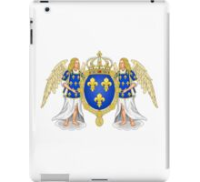 Coat of Arms of the Kingdom of France (1515-78) iPad Case/Skin
