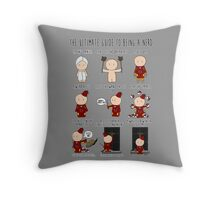 The Ultimate Guide To Being A Nerd Throw Pillow