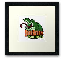 SoulStorm Kennels Framed Print