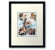 Once Upon a Time - A Tale of Two Sisters Framed Print