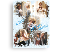 Once Upon a Time - A Tale of Two Sisters Canvas Print