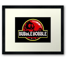 Bubble Bobble Park Framed Print