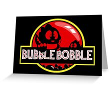 Bubble Bobble Park Greeting Card
