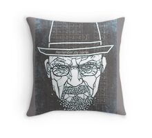 Walter White ( Heisenberg ) Throw Pillow