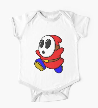 Red Shyguy One Piece - Short Sleeve