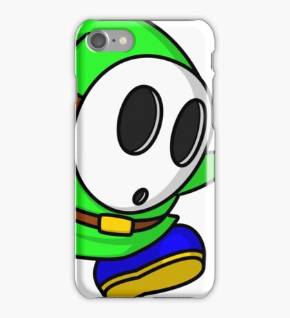 Green Shyguy iPhone Case/Skin