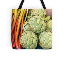 88 Paris artichokes & Rhubarb Tote Bag