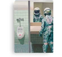 The Men's Room Canvas Print