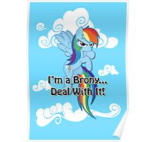 Brony...Deal With It! (Second Version) Poster