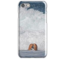 Playing in the Waves iPhone Case/Skin