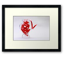 Love Overflowing Framed Print
