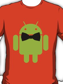 Formal Atire Android Robot T-Shirt