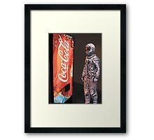 Coke Machine Framed Print