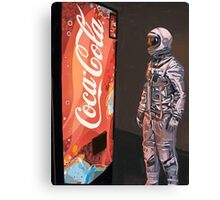 Coke Machine Canvas Print