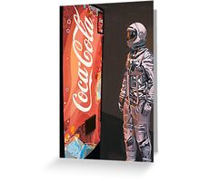 Coke Machine Greeting Card