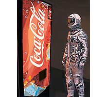 Coke Machine Photographic Print