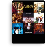 ABBA - The Albums  Canvas Print