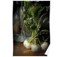 Still Life with Turnips Poster