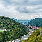 Bad Urach, view from the Grafensteige hill by Mark Bangert