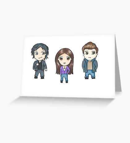 Vampire Diaries Greeting Card